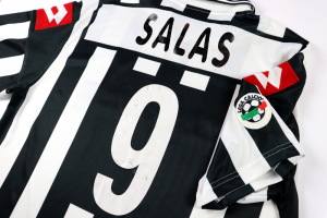 2001-02 Juventus Maglia Match Worn/issue #9 Salas L (Top)