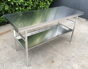 aluminium work table