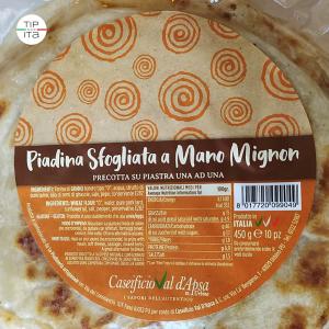 Piadine Mignon sfogliate a mano - 10pz