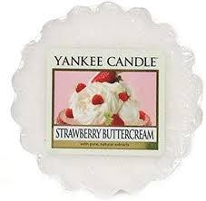 Yankee Candle - Strawberry Buttercream - Tartina