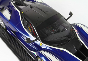 Ferrari FXXK Evo Blue #27 Limited 10 Pieces 1/12