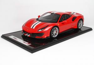 Ferrari 488 Pista Limited 88 Pieces 1/12