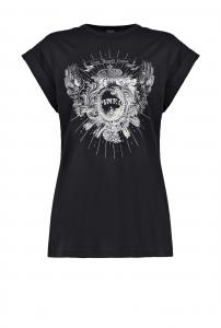 T-shirt in puro cotone con stampa di ispirazione western Pinko.