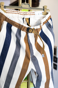 Pantalone a righe White Sand