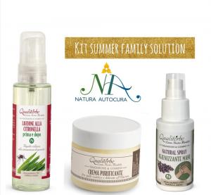 Kit Summer Family Solution Per Gruppo Naturautocura