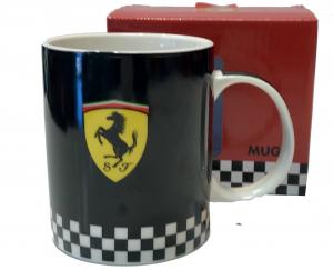 Scuderia Ferrari Black Mug