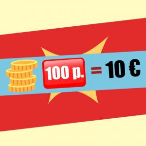 100 Puntos extras