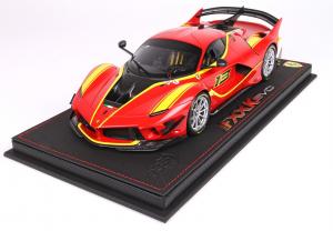 Ferrari FXXK EVO Rosso Corsa With Case 1/18