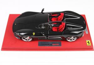 Ferrari Monza Sp2 Black With Case 1/18