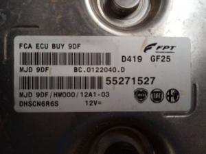 Centralina iniezione usata Fiat Tipo 1.3 mjt codice 55271527
