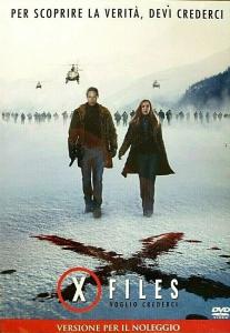 X-FILES Il Film - Voglio Crederci (dvd)