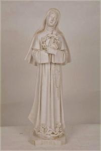 Statua Santa Rita in resina h. 50 PASQPA901B