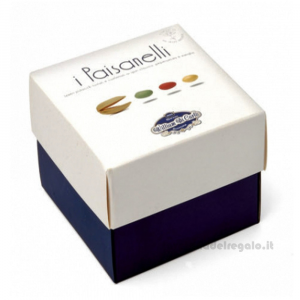 Confetti assortiti I Paisanelli pistacchi confettati 210gr/1Kg William Di Carlo Sulmona - Italy