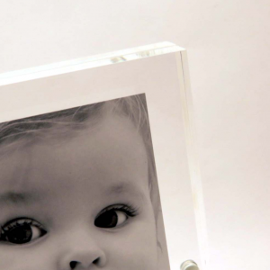 Cornice portafoto magnetica trasparente 10x15