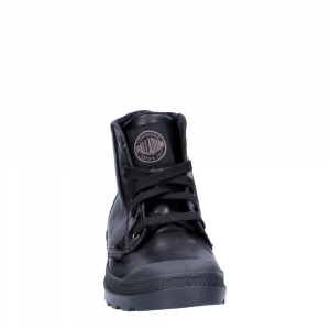 Palladium Lady Pampa HI Black Leather-1