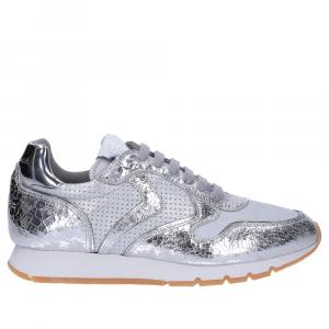 Voile Blanche Julia sneaker crack argento-3