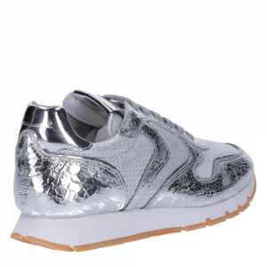 Voile Blanche Julia sneaker crack argento-5