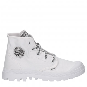 Palladium 70th Pampa Hi Canvas White-3