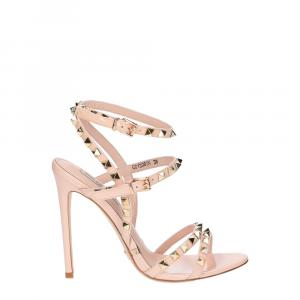 Gianni Renzi Couture sandalo vernice rosa cipria-2