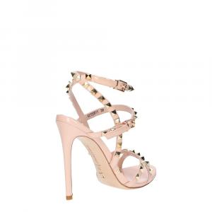Gianni Renzi Couture sandalo vernice rosa cipria-4