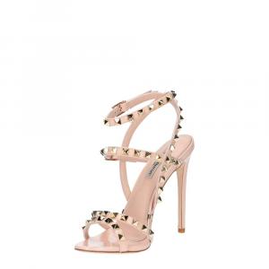 Gianni Renzi Couture sandalo vernice rosa cipria-5