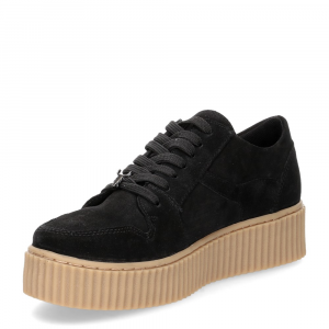 Windsor Smith Oracle black suede-2