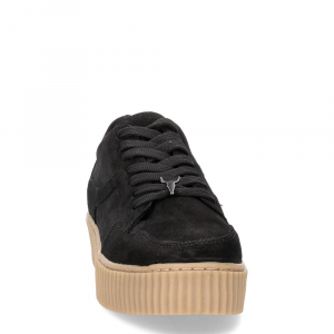 Windsor Smith Oracle black suede-3