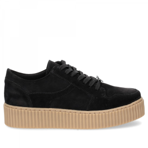 Windsor Smith Oracle black suede-4