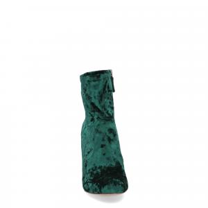 Steve Madden Gaze green velvet-1