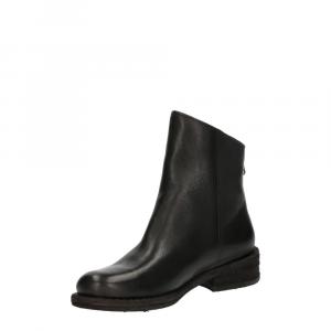 Felmini Targoff Preto+Zip Black Leather -2