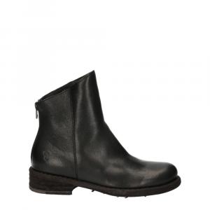 Felmini Targoff Preto+Zip Black Leather -3
