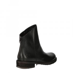 Felmini Targoff Preto+Zip Black Leather -5