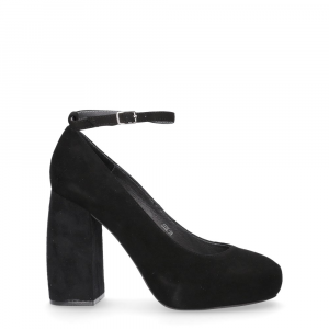 Jeffrey Campbell Phair suede black-1