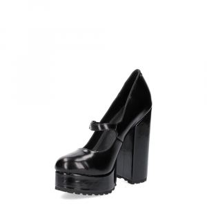 Jeffrey Campbell Adoree black leather-4