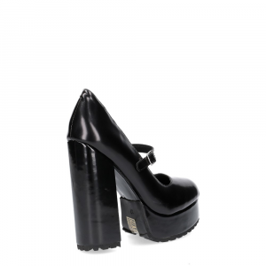 Jeffrey Campbell Adoree black leather-5