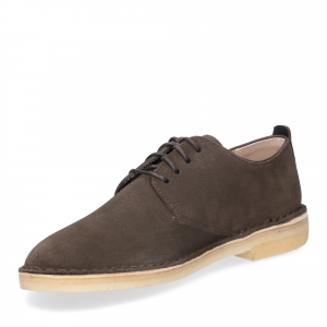 Clarks Original Desert London Peat Suede-4