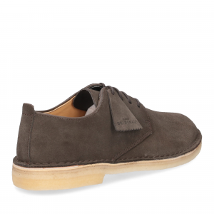 Clarks Original Desert London Peat Suede-5