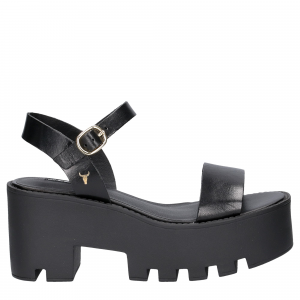 Windsor Smith Duffy Black Leather-2