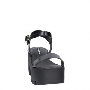 Windsor Smith Duffy Black Leather-3