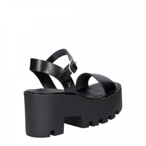 Windsor Smith Duffy Black Leather-4