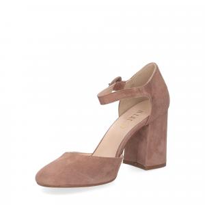 Il laccio sandaliera camoscio rosa-4