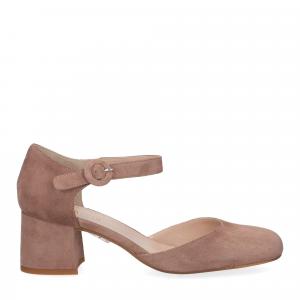 Il laccio sandaliera camoscio-1