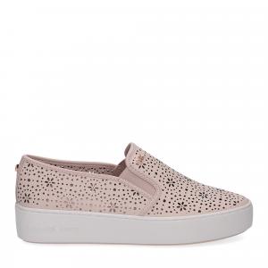 Michael Korstrent slip on nappa soft pink-2