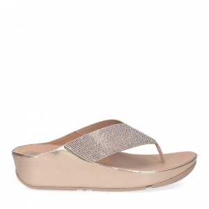 Fitflop tm crystall rose gold-1