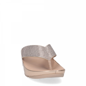 Fitflop tm crystall rose gold-2