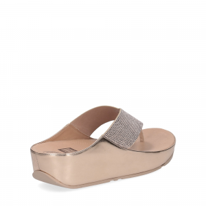 Fitflop tm crystall rose gold-5