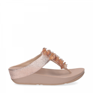 fitflop boogaloo toe post rose gold-2