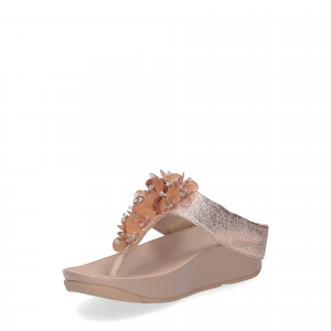 fitflop boogaloo toe post rose gold-3