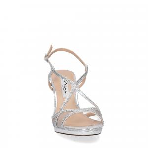 Nina new york sandalo blossom silver-1