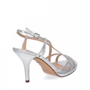 Nina new york sandalo blossom silver-5